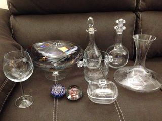 Piezas de cristal
