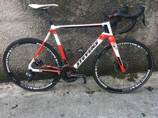 Bicicleta ciclocross stevens super prestige disc