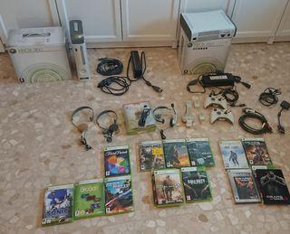 XBOX360 con mando adicional, webcam, juegos, etc