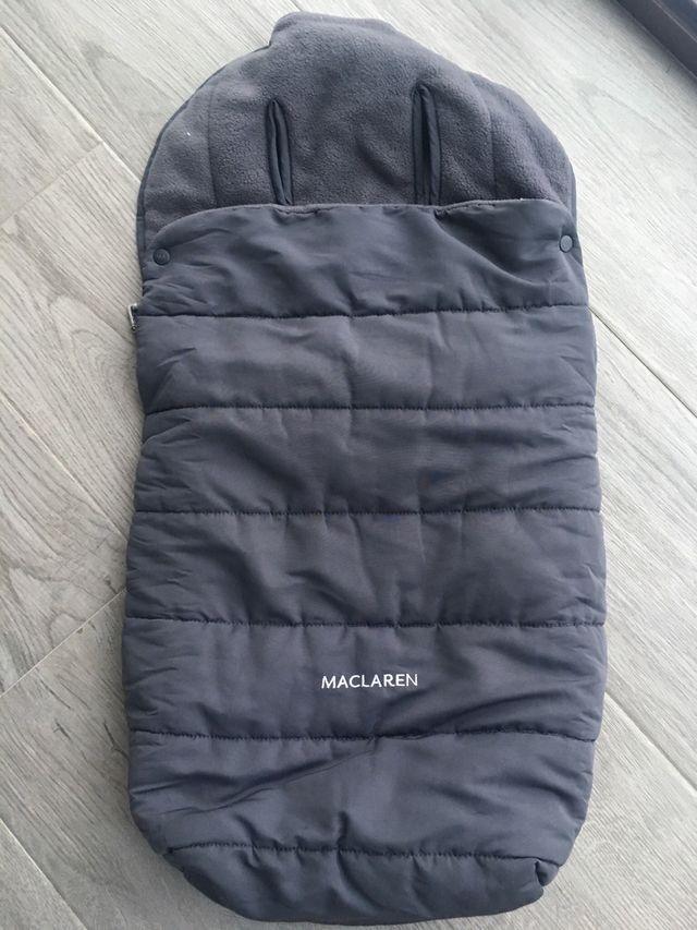 MacLaren saco de color gris Y saco para guardar