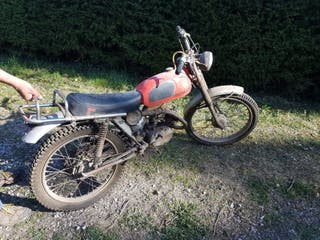 Moto Montesa Rapita