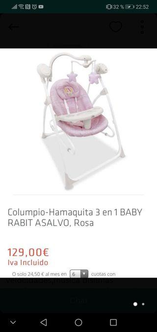 c0e8e26cf Columpio bebé eléctrico de segunda mano en WALLAPOP
