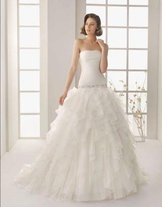 1046eddd5d Vestido de novia Rosa Clara de segunda mano en la provincia de ...