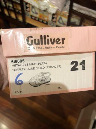 Sandalias niña marca gulliver talla 21