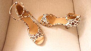 aa63d4a5 Zapatos de baile salsa de segunda mano en Madrid en WALLAPOP