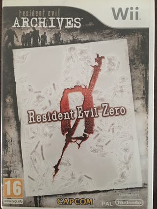Resident Evil 0 wii