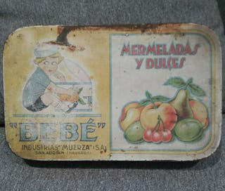 Caja antigua mermeladas BEBÉ