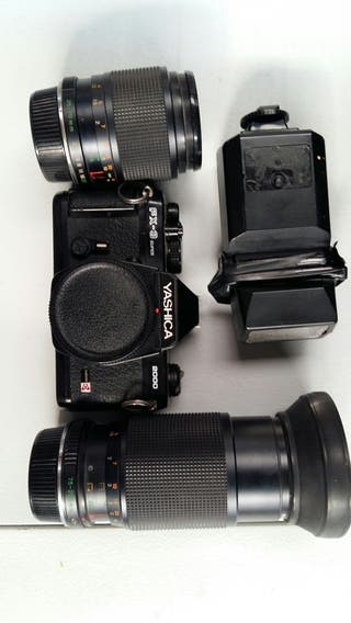 cámara analogica vintage
