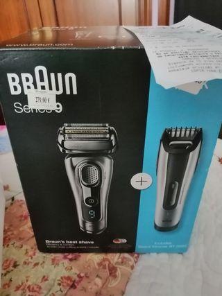 máquina de afeitar serie 9 braun