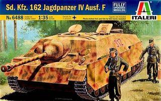 Maqueta ITALERI 1/35 - Sdkfz. 162 Jagdpanzr IV Aus