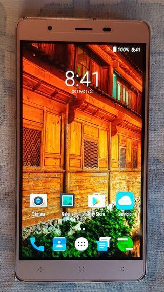 Teléfono móvil Elephone C1 dorado