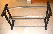 Zapatero barras de hierro