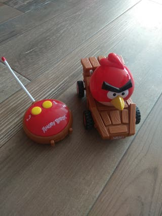 coche con mando angry birds