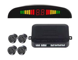 SENSOR APARCAMIENTO (4 SENSORES+DISPLAY LED+ALARMA