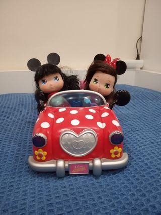 Coche I love Minnie