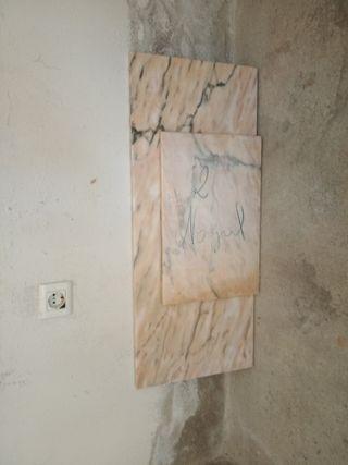 Baldas de marmol
