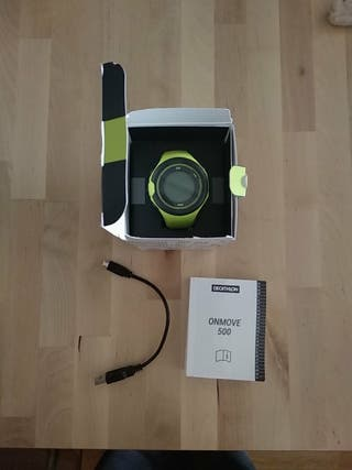 Reloj deportivo GPS-pulsómetro