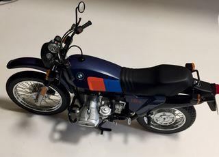 Miniatura moto BMW R80 G/S escala 1:10