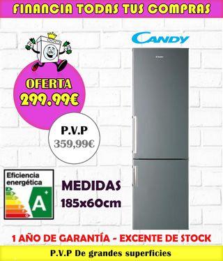 NUEVO! FRIGORÍFICO CANDY A+ 185x60CM