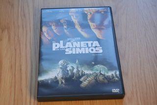 DVD - El planeta de los Simios