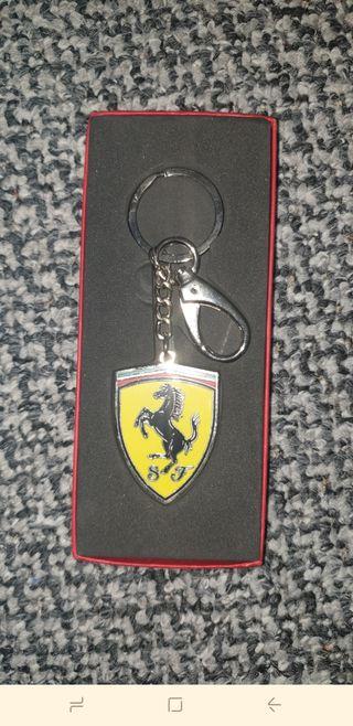 Ferrari pen and keyring