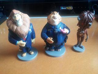 Figuras Zootropolis Disney