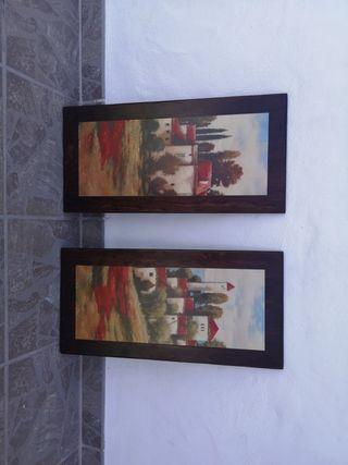 cuadros madera