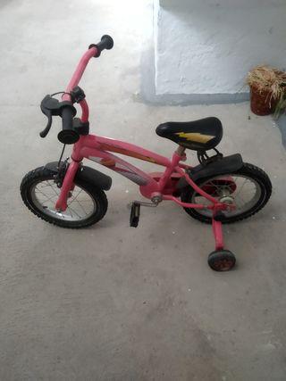 Bicicleta 16 pulgadas y patinete
