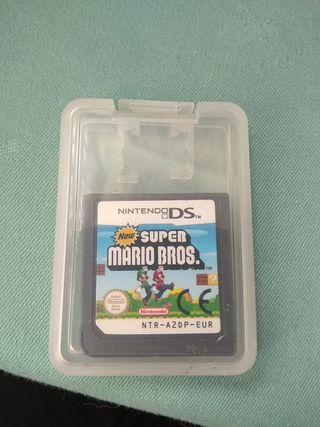 juego New Super Mario Bros Nintendo DS