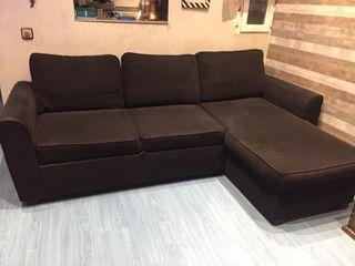 Sofá cama con Chaise Longue abatible