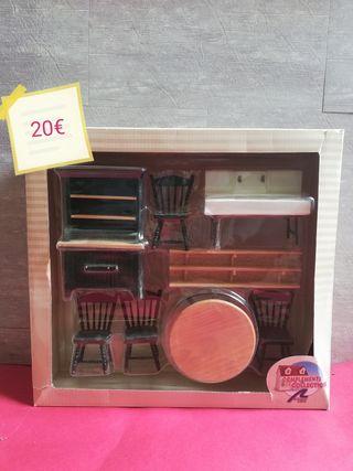 Muebles de Casas de Muñecas (Cocina)
