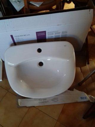 lavabo blanco porcelana