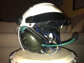 Vendo casco de paramotor marca Kiwi como nuevo