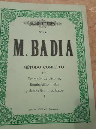 M Badía