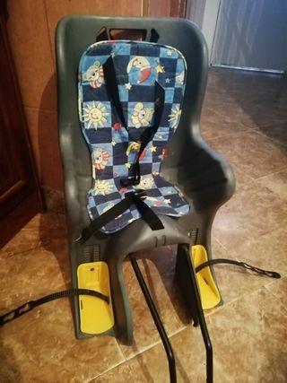 silla de bicicletas para niños
