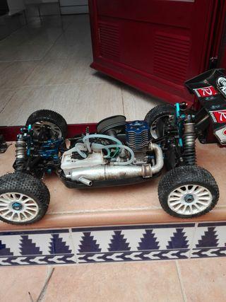 coche rc associated rc8b nitro