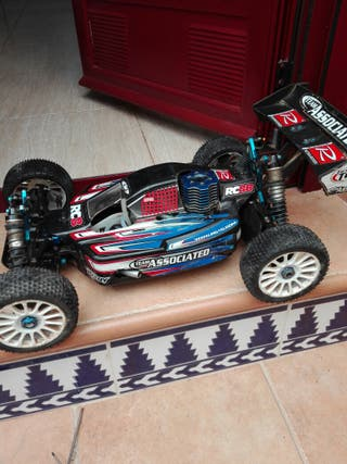 coche rc associated rc8b nitro