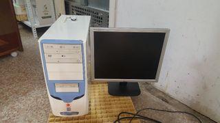 ordenador y pantalla