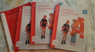 Libros Lengua 3° Primaria Santillana