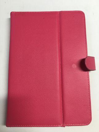 """Funda universal tablet 10.1"""" lisa rosa ajustable"""