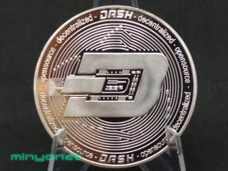 Moneda Dashcoin DSH criptomoneda.
