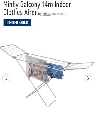 Minky Balcony 14m Indoor Clothes Airer