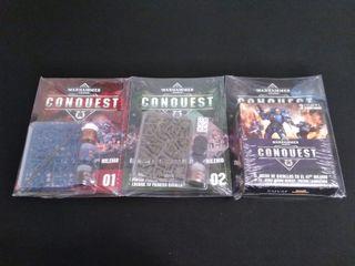 Warhammer Conquest - Fasículos 1, 2 y 3