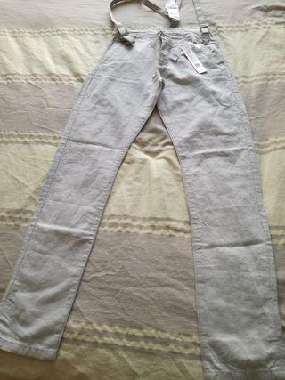 Pantalón De lino Bobóli.