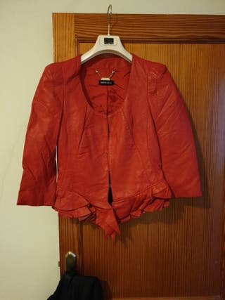 chaqueta piel Mangano