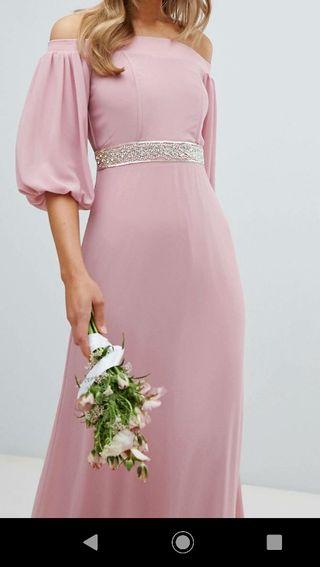 vestido ASOS dama de honor