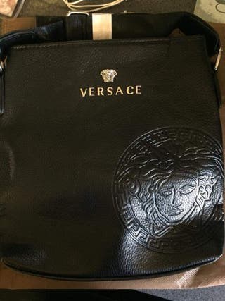 mens versace bag
