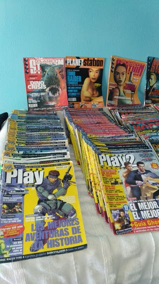 Revistas Playstation Antiguas