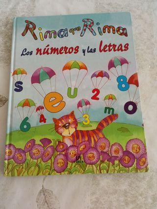 RIMA que RIMA los Números y las LETRAS