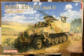 Maqueta DRAGON escala 1/35 - Sd.Kfz.251/21 Ausf. D